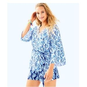 BRAND NEW! Lilly Pulitzer KAILEN Blouse sz.14
